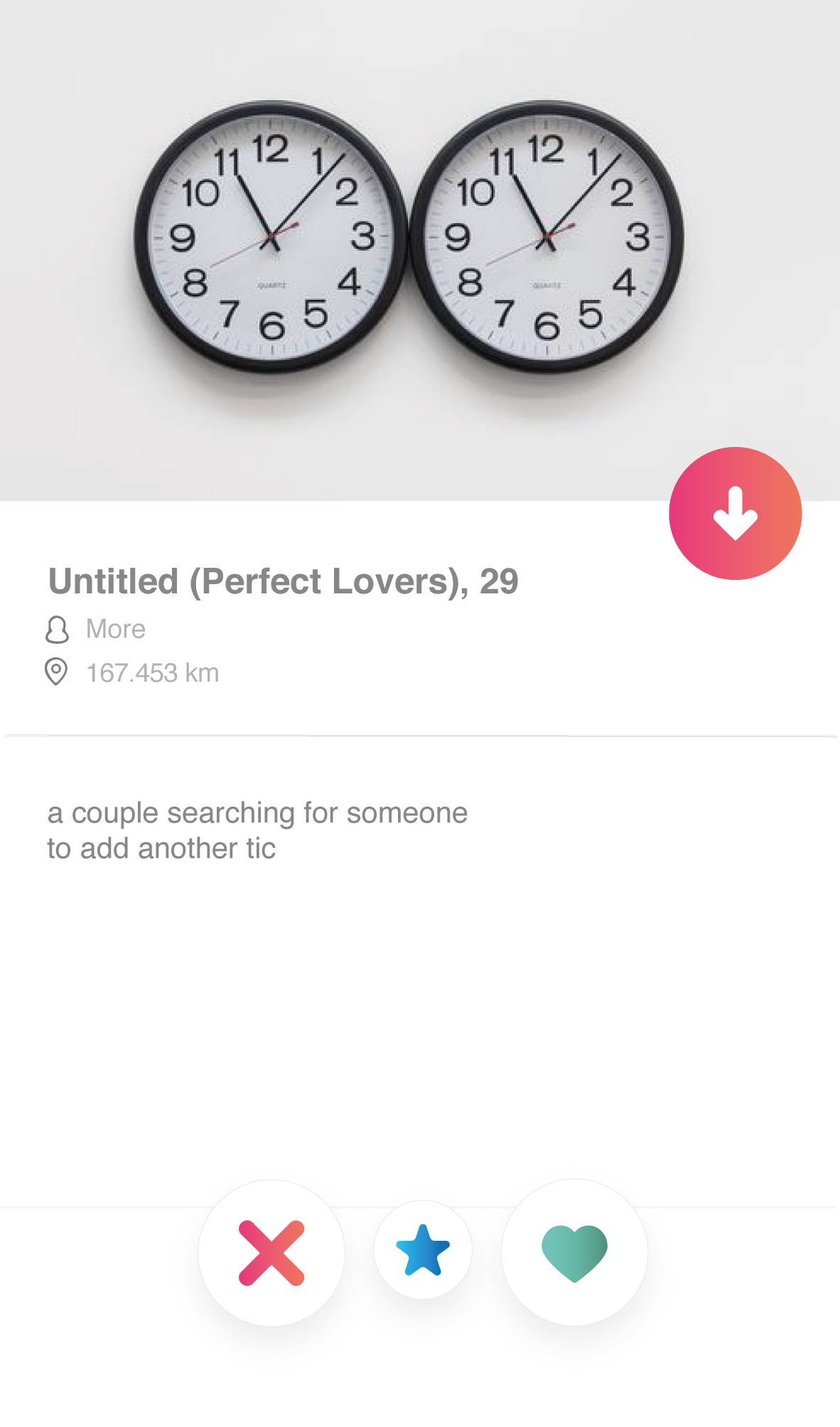 Perfect lovers
